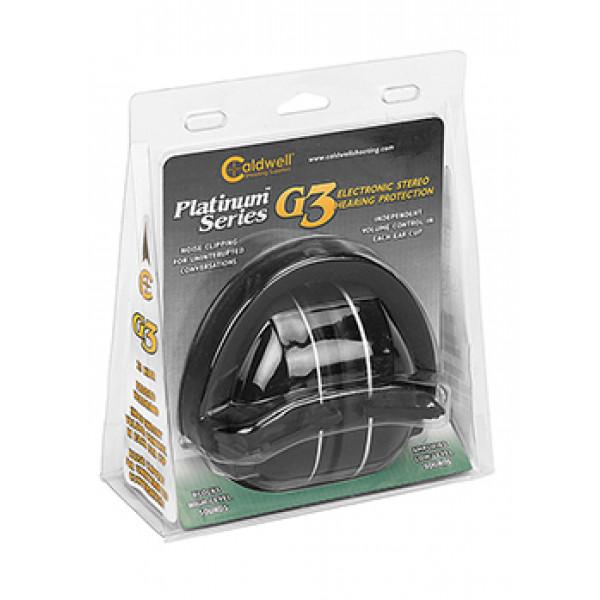 Активные наушники Caldwell Platinum Series G3