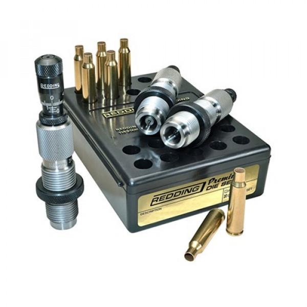 Redding 243 Winchester Premium Series Deluxe 3 Die Set